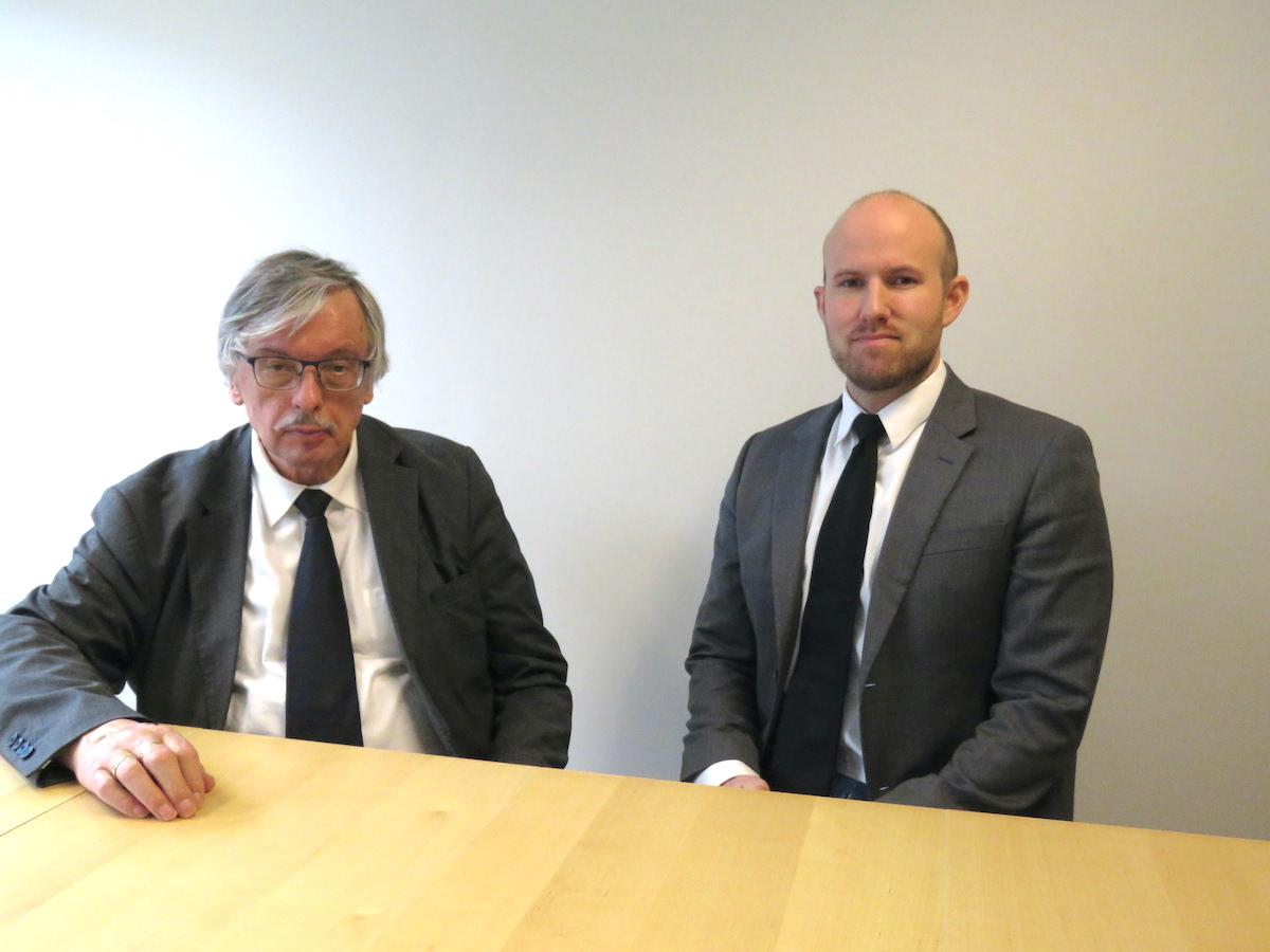 Aleksander Skogrand Pedersen fikk sin advokatbevilling