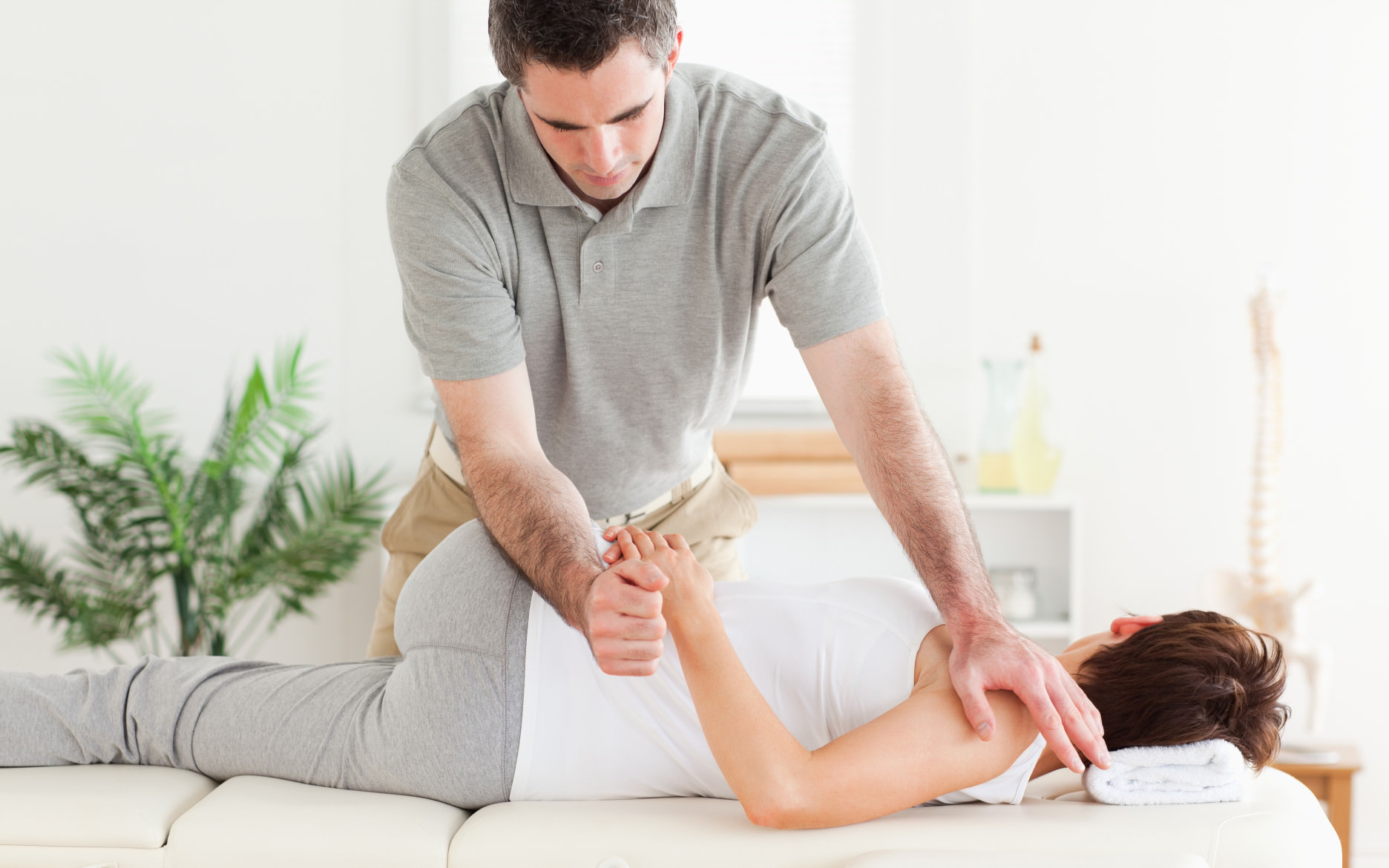 Behandling av fysioterapeut